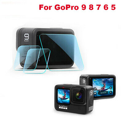 $ CDN5.02 • Buy Tempered Glass Protective Film Lens Screen Protector For GoPro Hero 9 8 7 6 5 4