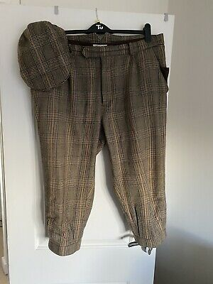 Laksen Breeks Size 40 And Matching Cap • 100£