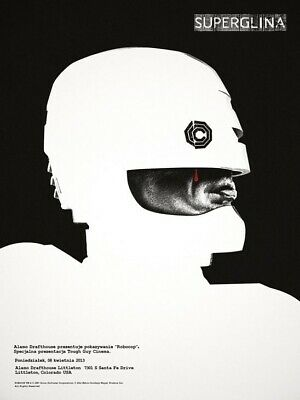 Mondo ROBOCOP 'Superglina' By Jay Shaw - 2013 Screen Print Poster 12/150 Mint • 99£
