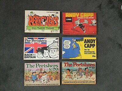 The Perishers Books Andy Capp Books Bundle • 25£