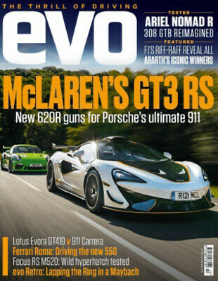 $ CDN13.92 • Buy EVO Magazine October 2020 McLaren GT3 RS Lotus Evora GT410 Porsche 911 Focus RS