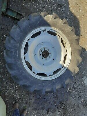 Rear Wheels And New Tyres To Fit Massey Ferguson R13/36 • 720£