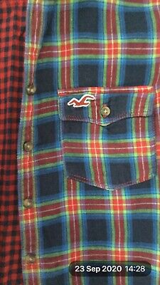 Hollister'  Checked Shirt, Boys, Size M • 3.99£