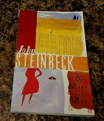 Classic Story-Of-Mice-and-Men-John Steinbeck-Penguin-(Paperback Book) • 3.50£