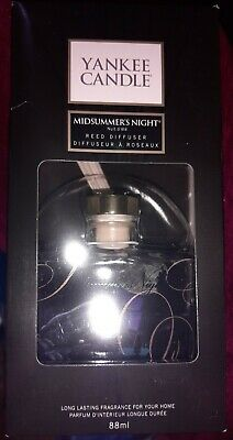 Yankee Candle Midsummers Night Reed Diffuser Room Home Fragrance Fragranced New • 14.90£