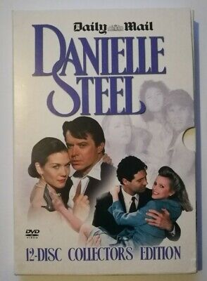 DANIELLE STEEL DAILY MAIL COLLECTORS EDITION 12x DVD BBFC 15 NICE DISCS • 12.99£