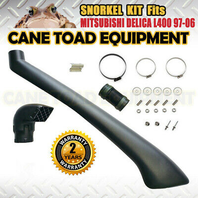 AU109.95 • Buy SNORKEL KIT FITS MITSUBISHI DELICA L400 4X4 PETROL AND DIESEL 05/1994 To 2006