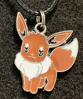 EEVEE Necklace NEW Pokémon TV Gaming Anime Brown Horse Monster • 3.61£