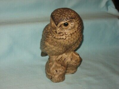 Poole Pottery - Owl On Tree Bough - 'B. Linley-Adams' (174 Mm High) • 19.99£