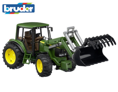 AU82.94 • Buy Tractor Toy Bruder Front Loader Ultra Realistic High Quality Scale Model Green