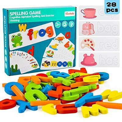 Preschool Learning Toys For 2 3 4 Year Old Toddlers, Educational Wooden Puzzle. • 18.99£