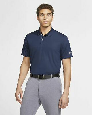 NIKE Men's Dri-Fit Victory Clothing Polo T-shirt Top Sport Golf Size Large L • 31.99£