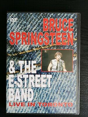 Bruce Springsteen & The E-Street Band - Live In Toronto DVD In Concert  • 9£
