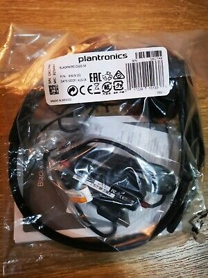 PLANTRONICS Blackwire C320-M USB Headband Wired OTE Headset ~ SKYPE, TEAMS, ZOOM • 31.99£