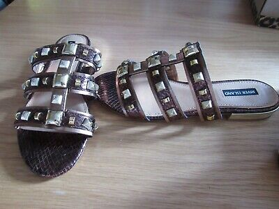 River Island  Sandals Shoes Size 6 New • 12.99£