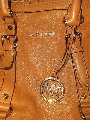 Michael Kors Soft Tan  Leather Large  Ladies Women Satchel Bag • 60£