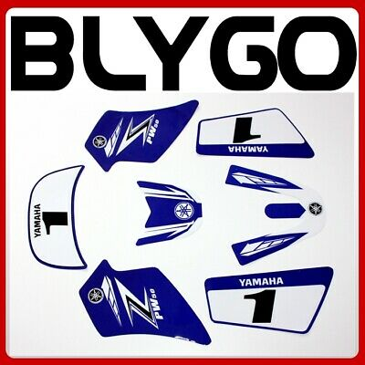 $ CDN24.76 • Buy 3M BLUE Decals Graphics Sticker Kit YAMAHA PEEWEE 50 PW50 PY50 Fairing Bike