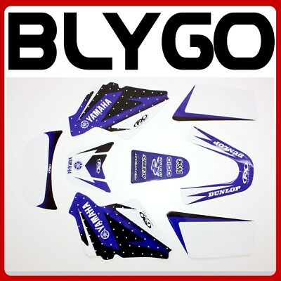 AU25.64 • Buy 3M PW ONLY BLUE Decals Graphics Sticker Kit YAMAHA PEEWEE 50 PW50 PY50 Fairing