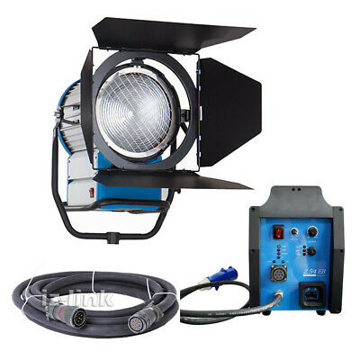 HMI 2500W 220V~250V Fresnel Light Compact 2.5/4KW Ballast+Cable Kit For Studio  • 1,875.61£
