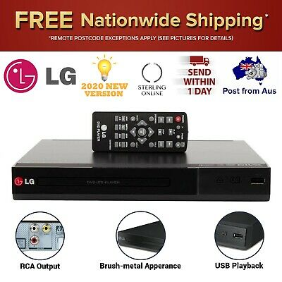 AU65.83 • Buy LG DVD Player With USB Playback Remote Control CD Movie DivX Sound Assist New