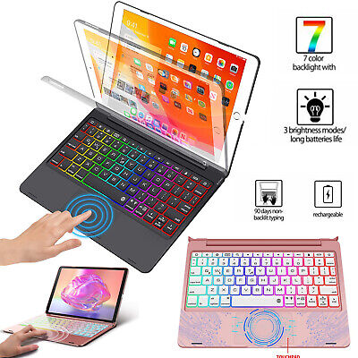 AU64.99 • Buy For 10.2  2020 Ipad 8th Gen 2019 Ipad 7th Cover With Keyboard Folio Case Cover