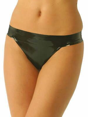 Honour Latex Thong Back Knickers In Black Or Red • 25.99£