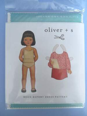£5 • Buy Oliver And S Sewing Pattern Book Report Dress 6 Months - 4 Years