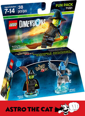 AU39 • Buy LEGO Dimensions 71221 Wicked Witch Fun Pack - Brand New