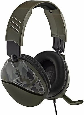 £24.99 • Buy Turtle Beach Recon 70 Green Camo Headset For Xbox One PS4 PS5 Switch & PC (NEW)