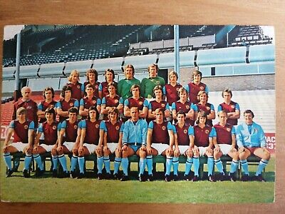 ASTON VILLA - Football Team Postcard - Original 1970's  FKS • 0.99£