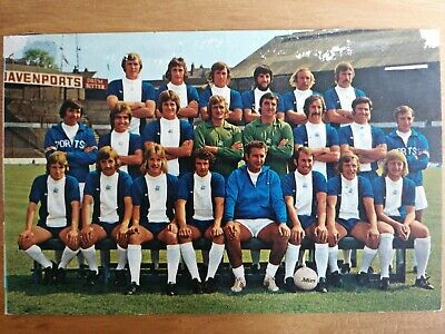 BIRMINGHAM CITY- Football Team Postcard - Original 1970's  FKS • 0.99£