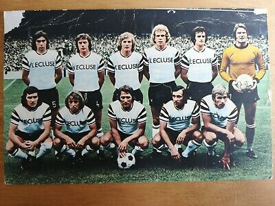 RWD MOLENBEEK - Football Team Postcard - Original 1970's  FKS • 0.99£