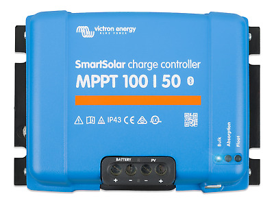 Smart Solar MPPT 100/50 Solar Charge Controller - Victron Energy • 288.95£