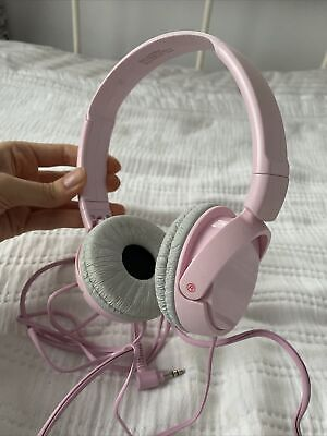 Sony MDR-ZX110 On-Ear Wired Headphones - Pink • 3£