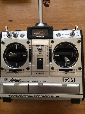 JR Apex 35mhz 7 Channel Transmitter And Receiver Complete With TX Battery • 28£