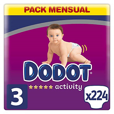 View Details Dodot Activity Diapers Size 3, 224 Diapers, 6-10kg • 71.58£