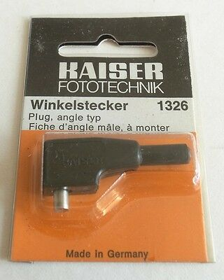Kaiser Flash Pc Plug Angle Type 1326. New Old Stock In Original Packing. • 3.50£