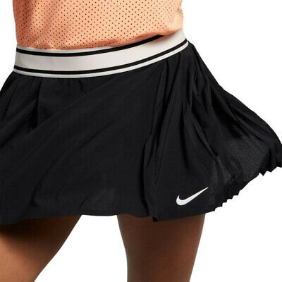 £34.99 • Buy Nike Flex Victory Court Maria Pleated Tennis Skirt Skort - Black Cd7718-010 S M