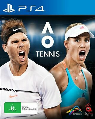AU29.99 • Buy AO Tennis PS4 Playstation 4 FREE POST + TRACKING VERY GOOD!