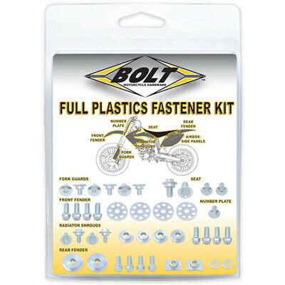 AU22.95 • Buy Bolt MX Yamaha YZ85 02-20 Plastics Motocross Dirt Bike Fastener Kit