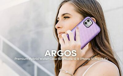 AU23.17 • Buy Clayco Argos Series For IPhone 12 12 Pro 6.1  Wallet Case Cover Hidden Card Slot