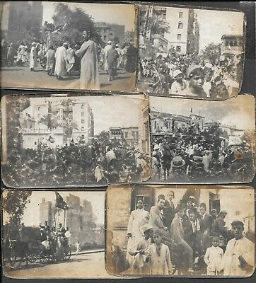 £49.99 • Buy EGYPT 1919 PHOTOGRAPHS X 6 OF RIOTS ALL ANNOTATED. POOR CONDITION.