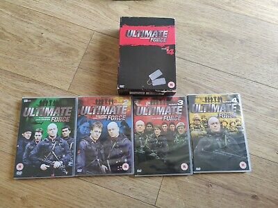 Ultimate Force: Series 1-4 [DVD] - DVD - Fast Free Post • 11.99£
