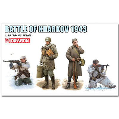 Dragon 1/35 Scale 1/35 BATTLE OF KHARKOV 1943 • 15.99£