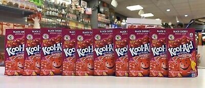 Kool Aid Black Cherry .13oz X 10 Sachets (USA Import) • 10.49£