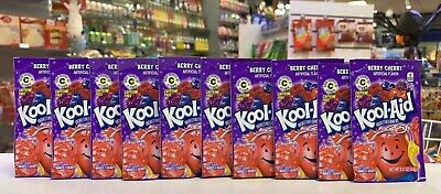 Kool Aid Berry Cherry .17oz  X 10 Sachets (USA Import) • 10.49£