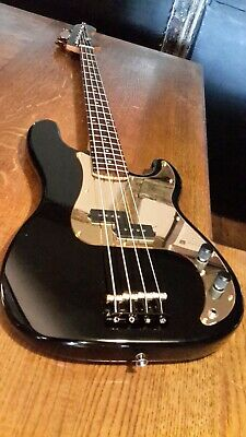 Squier By Fender Precision P Bass Guitar. Made In Indonesia • 125£