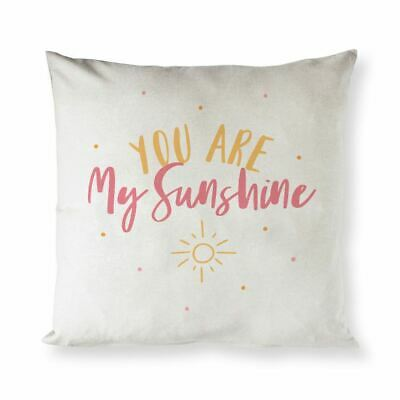 You Are My Sunshine Baby Cotton Canvas Pillow Cover • 18.06£