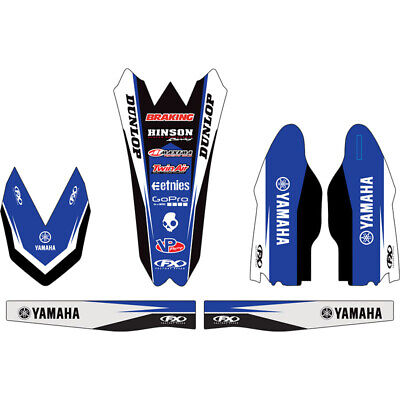 AU109.95 • Buy Factory Effex  Mx Yamaha YZ250F 10-13 Motocross Graphics Decals Trim Kit
