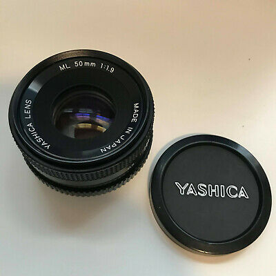 YASHICA ML 50mm F1.9 Lens - Y/C YASHICA / CONTAX Fit 'EXCELLENT + BOXED' • 69.99£